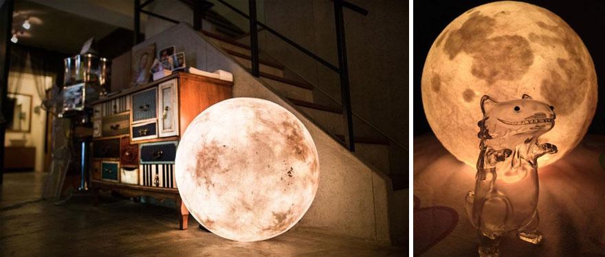 Ksiezycowa lampa Luna dekoracja, ktora zamienia przestrzen w magiczny swiat1