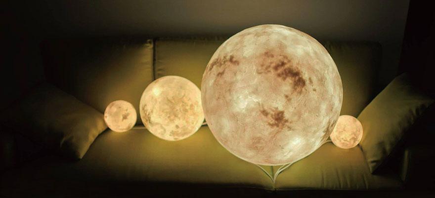 Ksiezycowa lampa Luna dekoracja, ktora zamienia przestrzen w magiczny swiat7