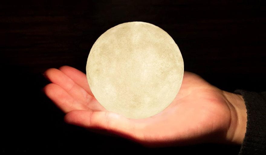 Ksiezycowa lampa Luna dekoracja, ktora zamienia przestrzen w magiczny swiat9