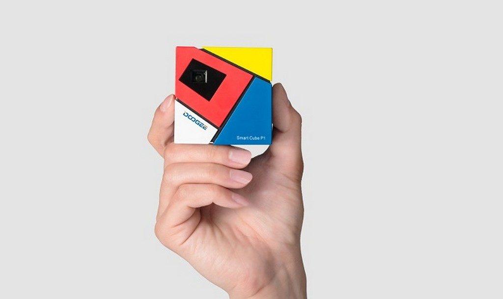 Doogee Smart Cube P1 – projektor ktory pomylisz z Kostka Rubika1