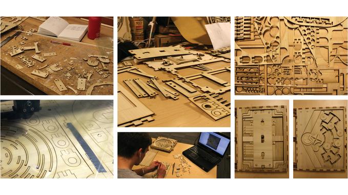 Codex Silenda drewniana ksiazka z łamiglowkami7