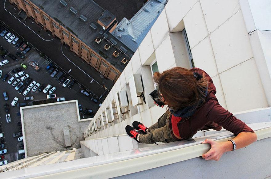 Galeria selfie wykonanych w niebezpiecznych miejscach10