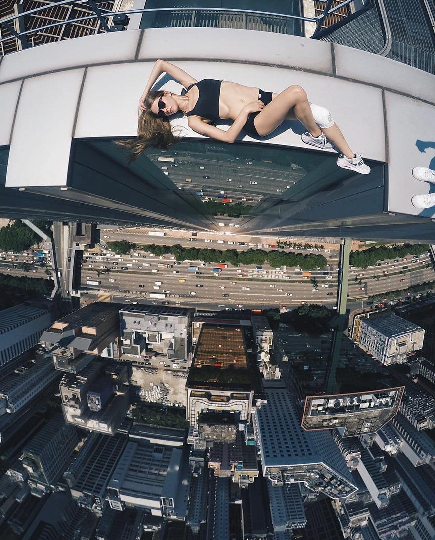Galeria selfie wykonanych w niebezpiecznych miejscach2
