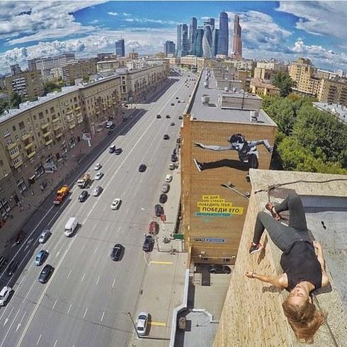 Galeria selfie wykonanych w niebezpiecznych miejscach23