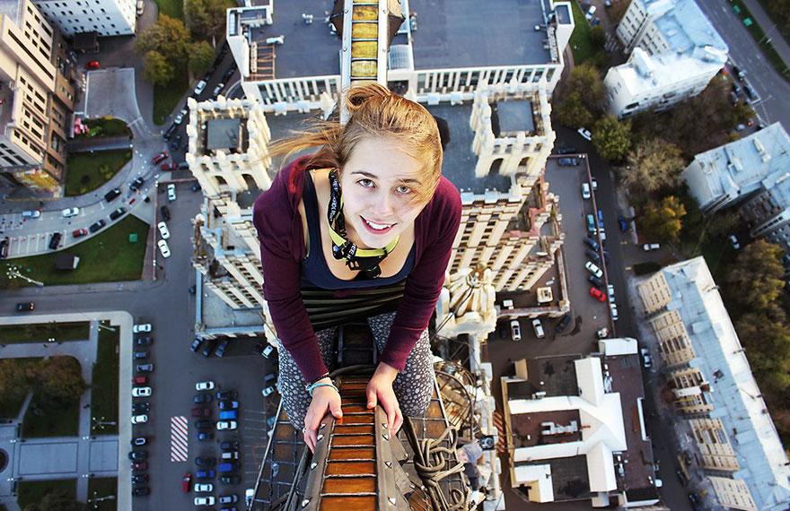 Galeria selfie wykonanych w niebezpiecznych miejscach7