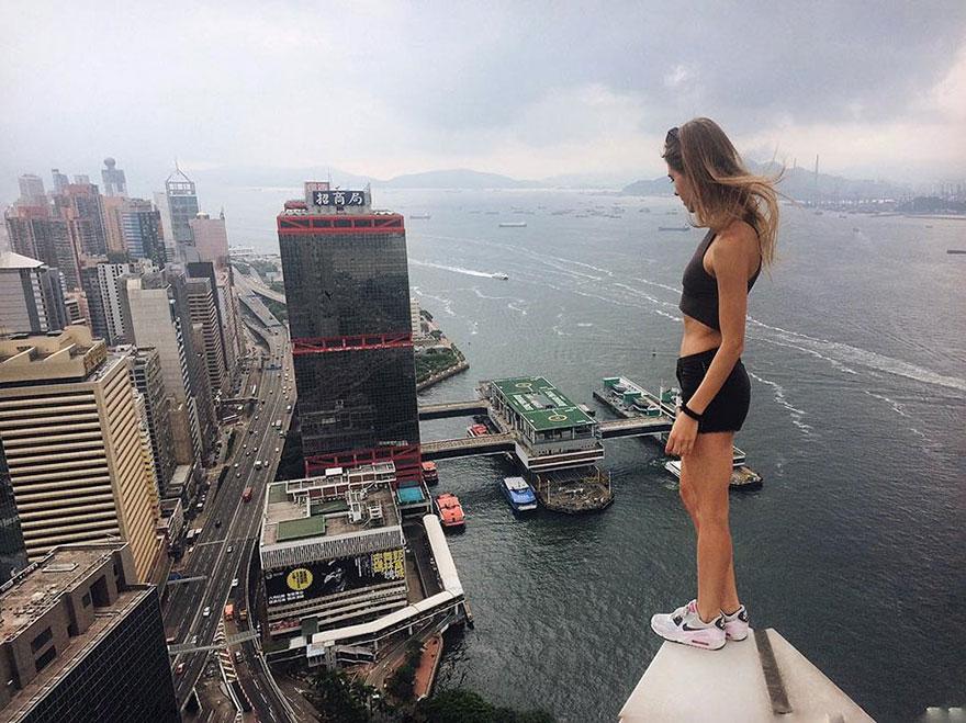 Galeria selfie wykonanych w niebezpiecznych miejscach8