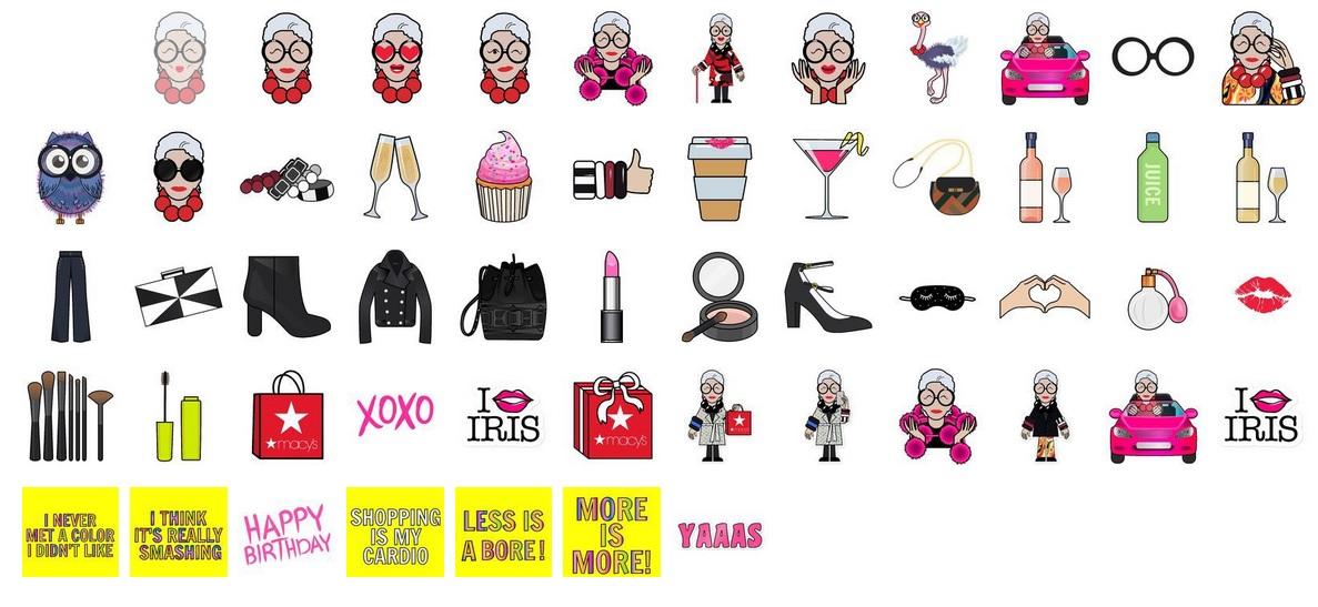 Iris Apfel będzie miec swoje emoji