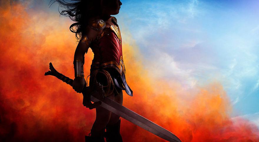 Ojciec spelnia marzenie trzyletniej corki i przemienia ja w Wonder Woman1