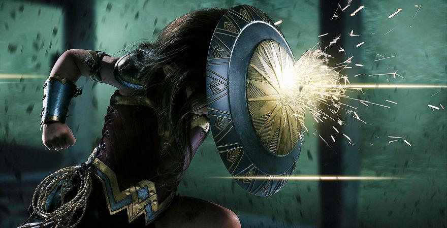 Ojciec spelnia marzenie trzyletniej corki i przemienia ja w Wonder Woman16