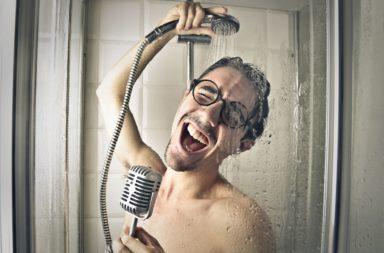 Koncer podczas kąpieli